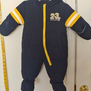 London Fog Baby Snow Suit!